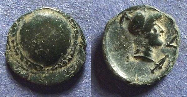 Ancient Coins - Aspendos, Pamphylia Circa 150 BC, AE15