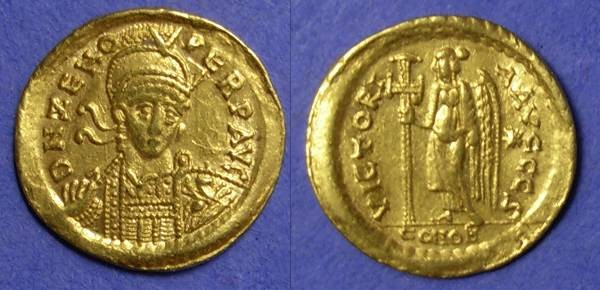 Ancient Coins - Zeno 474-491 – Solidus