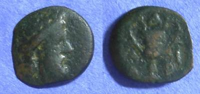Ancient Coins - Cyclades Andros AE16 - Circa 300-250 BC *Lindgren plate coin*