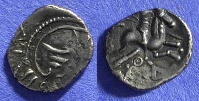 Ancient Coins - Allobroges – Gaul, Quinarius Circa 70-50 BC