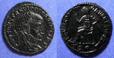 Ancient Coins - Roman Empire, Divus Constantius D. 306 AD, AE 3/4