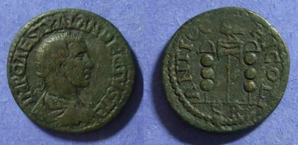 Ancient Coins - Antioch Pisidia – Trajan Decius 249-251 AE26