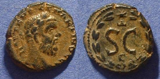 Ancient Coins - Macrinus 217/8 - AE19 of Antioch