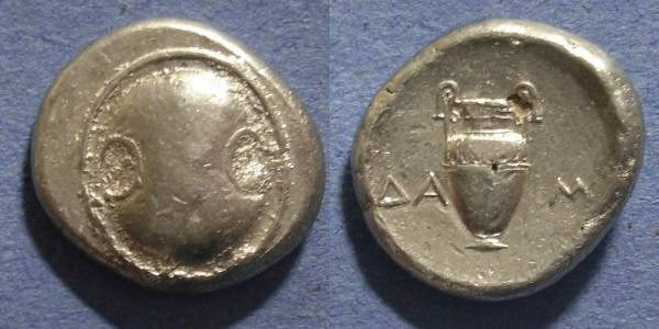 Ancient Coins - Boeotia,  379-368 BC, Stater
