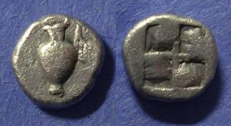 Ancient Coins - Macedonia, Terone Circa 450 BC, Diobol