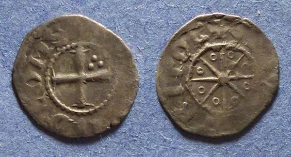 Ancient Coins - Crusader Tripoli, Bohemund V 1233-51, Denier