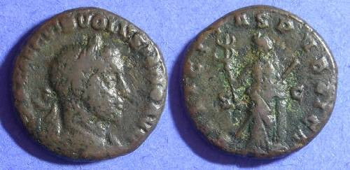 Ancient Coins - Volusian 251-3 - Aes