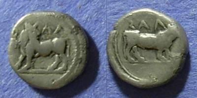 Ancient Coins - Laos, Lucania Circa 450 BC, 1/6 Stater