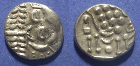 Ancient Coins - Britian, Durotriges Circa 100 BC, Early Good Silver Stater