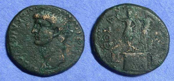 Ancient Coins - Philippi Macedonia – Claudius 41-54AD – AE25