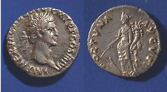 Ancient Coins - Nerva 96-98 AD, Denarius
