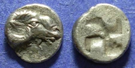 Ancient Coins - Kebren, Troas Circa 420 BC, Diobol