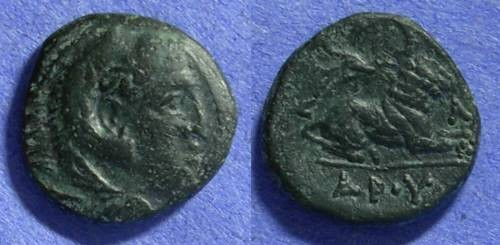 Ancient Coins - Macedonian Kingdom – Kassander 319-297BC AE16