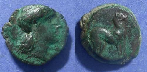 Ancient Coins - Segesta(?), Sicily Circa 400 BC,