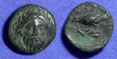 Ancient Coins - Adramytteion Mysia AE12 Circa 350 BC
