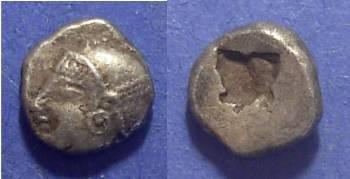 Ancient Coins - Phokaia, Ionia Circa 500 BC, Trihemiobol
