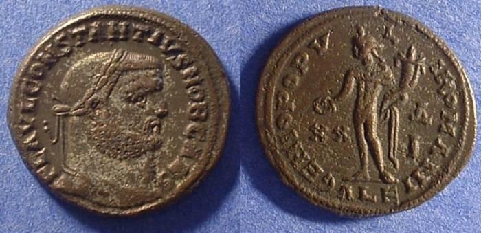 Ancient Coins - Constantius I as Caesar 293-305AD - Follis