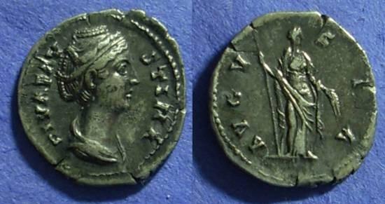 Ancient Coins - Faustina Sr d.141 - Denarius