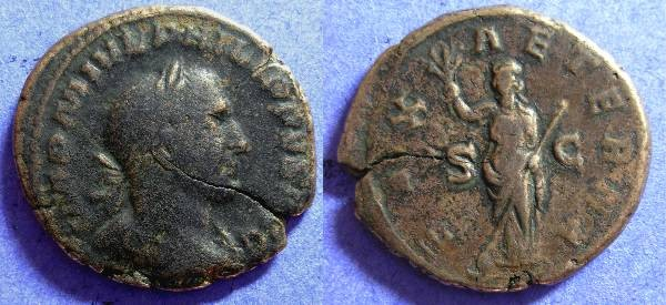 Ancient Coins - Philip I 244-9 - Aes
