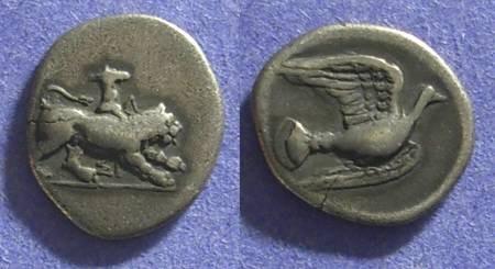 Ancient Coins - Sikyon  350-280 BC Hemidrachm