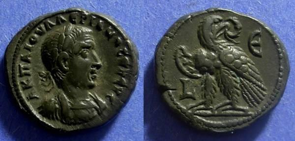 Ancient Coins - Roman Egypt Valerian 253-260 Tetradrachm