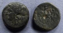 Ancient Coins - Sicily, Syracuse, Fifth Democracy 214-212 BC, AE21