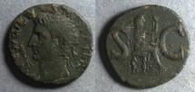 Ancient Coins - Roman Empire,  Divus Augustus Died 14AD, As