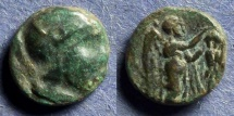 Ancient Coins - Scythian Imitation, Type of the Seleucid King Seleukos Circa 200 BC, AE11