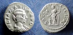 Ancient Coins - Roman Empire, Julia Maesa 218-222, Denarius