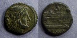 Ancient Coins - Roman Republic, Anonymous 91 BC, Semis