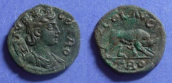 Ancient Coins - Alexander Troas,  230-268, AE21