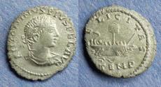 Ancient Coins - Roman Empire, Elagabalus 218-222, Denarius (imitative)