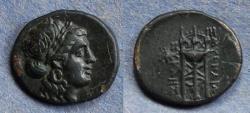 Ancient Coins - Ionia, Smyrna 220-190 BC, AE13