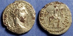 Ancient Coins - Roman Empire, Commodus 177-192, Fourree Denarius