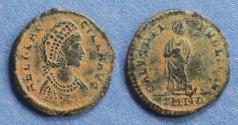 Ancient Coins - Roman Empire, Aelia Flaccilla. 383-388, AE2