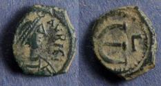 Ancient Coins - Byzantine Empire, Maurice Tiberius 582-602, 5 Pentinummi