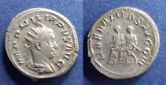 Ancient Coins - Roman Empire, Philip II 247-249, Antoninianus