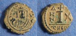 Ancient Coins - Byzantine Empire, Maurice Tiberius 582-602, Decanummi