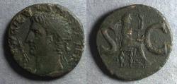 Ancient Coins - Roman Empire,  Divus Augustus Died 14AD, As