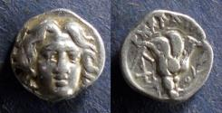 Ancient Coins - Islands off of Caria, Rhodes 230-205 BC, Hemidrachm