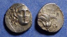 Ancient Coins - Islands off of Caria, Rhodes 205-188 BC, Drachm