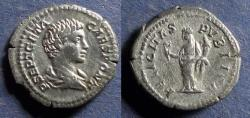 Ancient Coins - Roman Empire, Geta (as Caesar) 198-208, Denarius