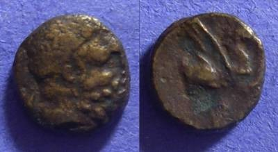 Ancient Coins - Corinth – AE11 – 223-196 BC
