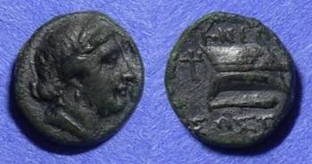 Ancient Coins - Knidos Caria AE12 – Circa 250 BC