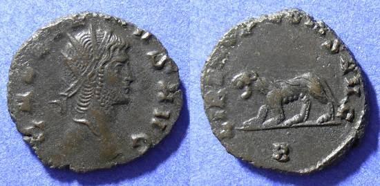 Ancient Coins - Gallienus 253-268AD Antoninianus - Panther reverse
