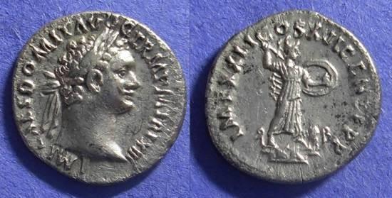 Ancient Coins - Domitian 81-96 AD – Denarius
