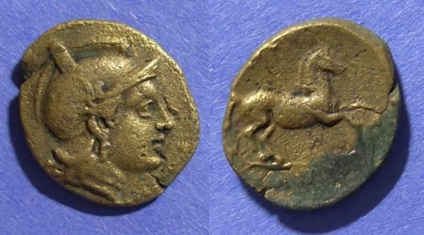 Ancient Coins - Thessaly, Skotussa 300-190 BC, Trichalkon
