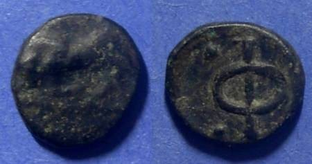 Ancient Coins - Phlious, Philiasia Circa 400-350 BC, Chalkous