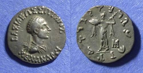 Ancient Coins - Bactria, Menander 155-130 BC, Drachm