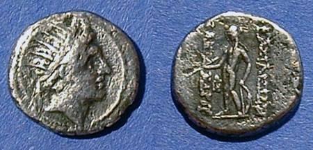 Ancient Coins - Seleucid Kingdom - Alexander I Balas 150-145BC Hemi-drachm